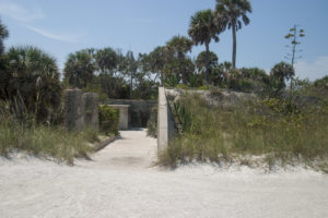 Battery Mellon on Egmont Key